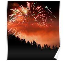 Celebration of light fireworks Poster