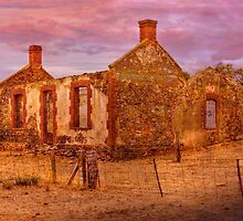 Deserted Another View - Red Creek Rd, Hartley, Murraylands, SA by Mark Richards