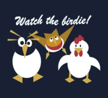 Watch the birdie Kids Tee