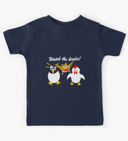 Watch the birdie Kids Tee