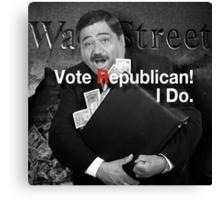 Vote Republican! 6 Canvas Print