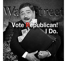 Vote Republican! 6 Photographic Print