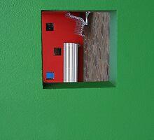 Green Phone by Michael Eyssens