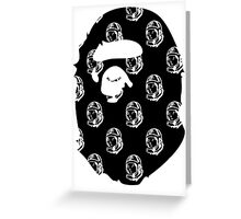 Bathing ape x BBC Greeting Card