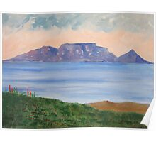 Table Mountain South Africa Poster