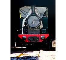 Thomas likes sleeping in. Look out for the fat controller Photographic Print