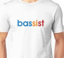Colorful Bassist Unisex T-Shirt