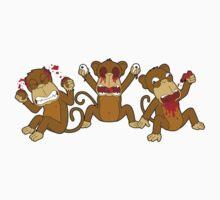 3 Wise Monkeys by John Paine