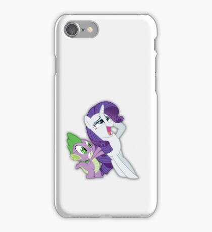 Spike Loves You Rarity! iPhone Case/Skin