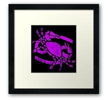 Cancer. Framed Print