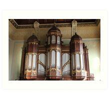 School Organ Art Print