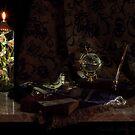 Globe and Oil Lamp by FrankSchmidt