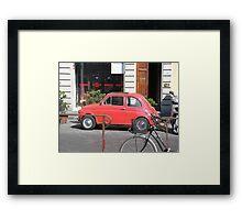 Cute Fiat Framed Print