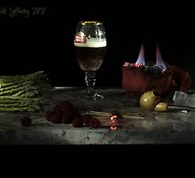 Asparagas and Brasier after Adriaen Coorte by FrankSchmidt