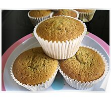 Lemon Cup Cakes Poster