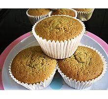 Lemon Cup Cakes Photographic Print