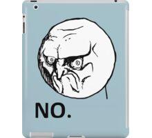 NO! TROLL iPad Case/Skin