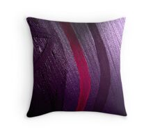 'And From My Soul Comes The Darkness' ~ Pore Space Inkling No 3 Throw Pillow