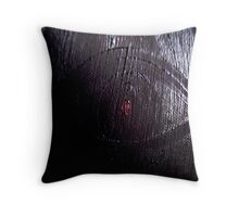 'And From My Soul Comes The Darkness' ~ Pore Space Inkling No 4 Throw Pillow