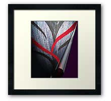 'And From My Soul Comes The Darkness' ~ Pore Space Inkling No 5 Framed Print