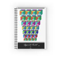 Hypercube Fractal 3G Spiral Notebook