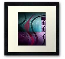 'And From My Soul Comes The Darkness' ~ Pore Space Inkling No 8 Framed Print