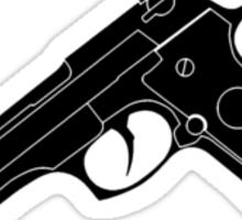 Deadly (Mono Black) Sticker