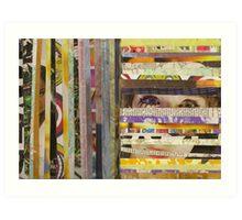 slits/stripes Art Print