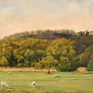 Pastoral in West Hythe by Beatrice Cloake Pasquier