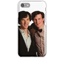 Sherlock and Eleven iPhone Case/Skin