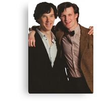 Sherlock and Eleven Canvas Print