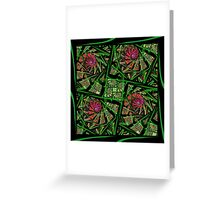 Weeds In The Garden Greeting Card
