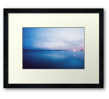 Silence is golden. Framed Print