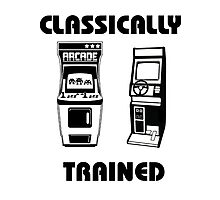 Classically Trained - Featuring Retro Arcade Machines Photographic Print