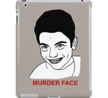 MURDER FACE TROLL iPad Case/Skin