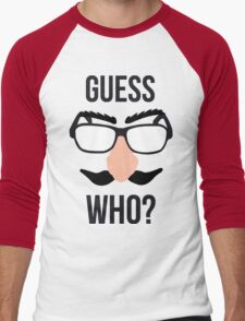 Guess Who? Men's Baseball ¾ T-Shirt