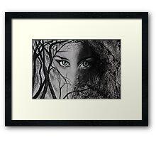 Mysterious Female Framed Print