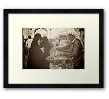 The Bargain Framed Print