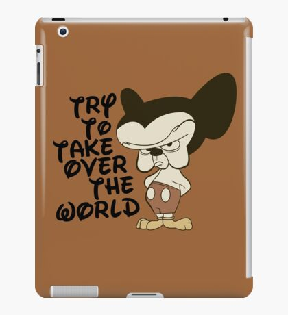 Try To Take Over The World iPad Case/Skin