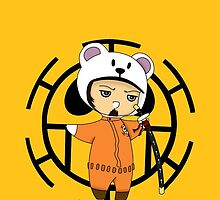 Trafalgar Law- One piece chibi by rainbowcho