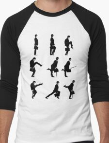 Ministry of Silly Walks Men's Baseball ¾ T-Shirt