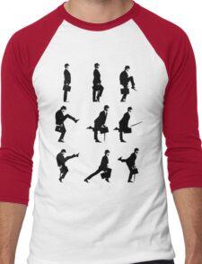 Ministry of Silly Walks Men's Baseball ¾ T-Shirt