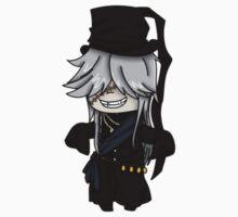 Undertaker- Black Butler chibi Kids Tee