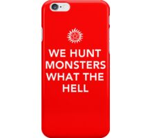 We Hunt iPhone Case/Skin