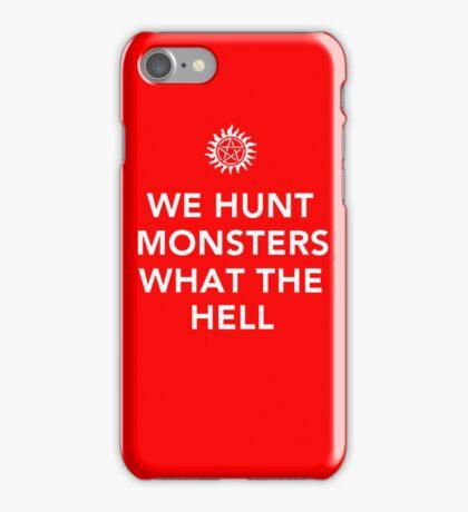 We Hunt iPhone Case/Skin