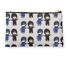 Ciel and Sebastian - Black Butler  Studio Pouch