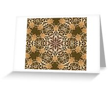 Persian pattern Greeting Card