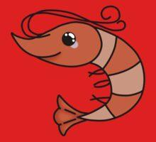 Funny shrimp Kids Tee