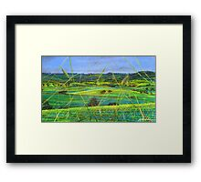 Greenhills Framed Print