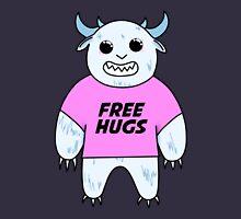 Yeti Free Hugs Women's Fitted Scoop T-Shirt